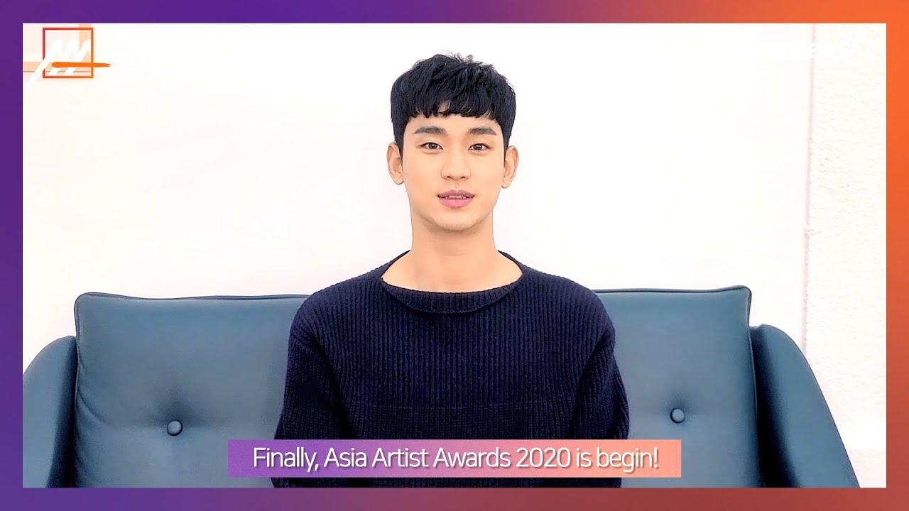 """ʹ€ìˆ˜í˜"""" Kim Soo Hyun 2020 Asia Artist Awards 2020 Aaa Actor Youtube"""