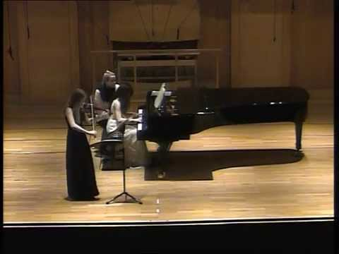 Beethoven Sonata for Violine and Piano a-moll Nr.4 op 23 1st mov
