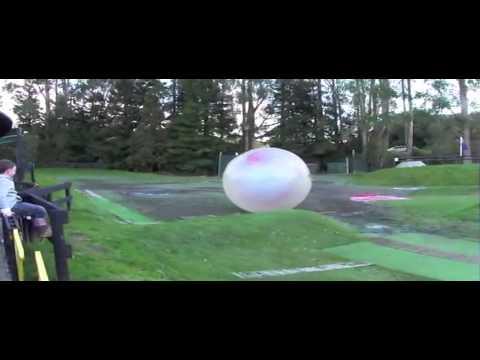 Zorb Globe Riding Rotorua New Zealand