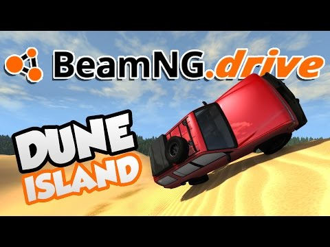 BeamNG.drive Gameplay - Dune Island! - Let's Play BeamNG.drive