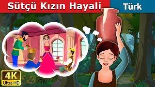 Sütçü Kızın Hayali | Masal dinle | Türkçe peri masallar