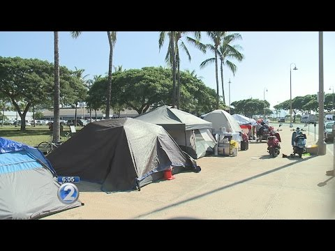 IHS: Mainland people looking to be homeless in Hawaii