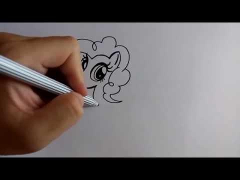 วาดรูปการ์ตูน มายลิตเติ้ลโพนี่ พิ้งค์กี้พาย my little pony pinkie pie โดย วาดการ์ตูนกันเถอะ