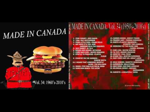 Made in Canada: A Boomer's Guide to Canadian Music (1950's-2010's)