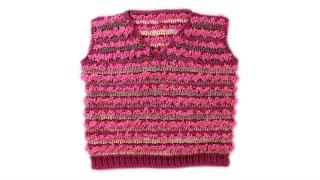 Жилет крючком для детей 3-4 года часть 12 baby crochet vest #crochet #baby(Как связать крючком жилет на ребенка 3-4 года, используя фантазийную пряжу. Благодаря схемам и подробному..., 2016-12-02T17:00:03.000Z)