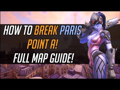 How To Break Paris Point A! Full Map Guide!
