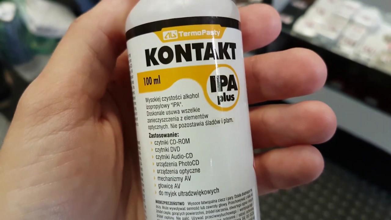 Alkohol Izopropylowy IPA – czyszczenie optyki i elektroniki