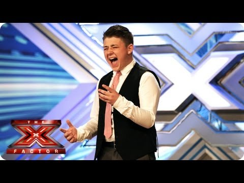 Nicholas McDonald sings You Raise Me Up by Josh Groban - Room Auditions Week 3 - The X Factor 2013