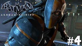 Batman arkham origins: story mode playthrough ep. 4 - deathstroke!
