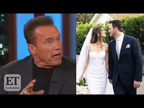 Arnold Schwarzenegger gushes over new son-in-law Chris Pratt ...