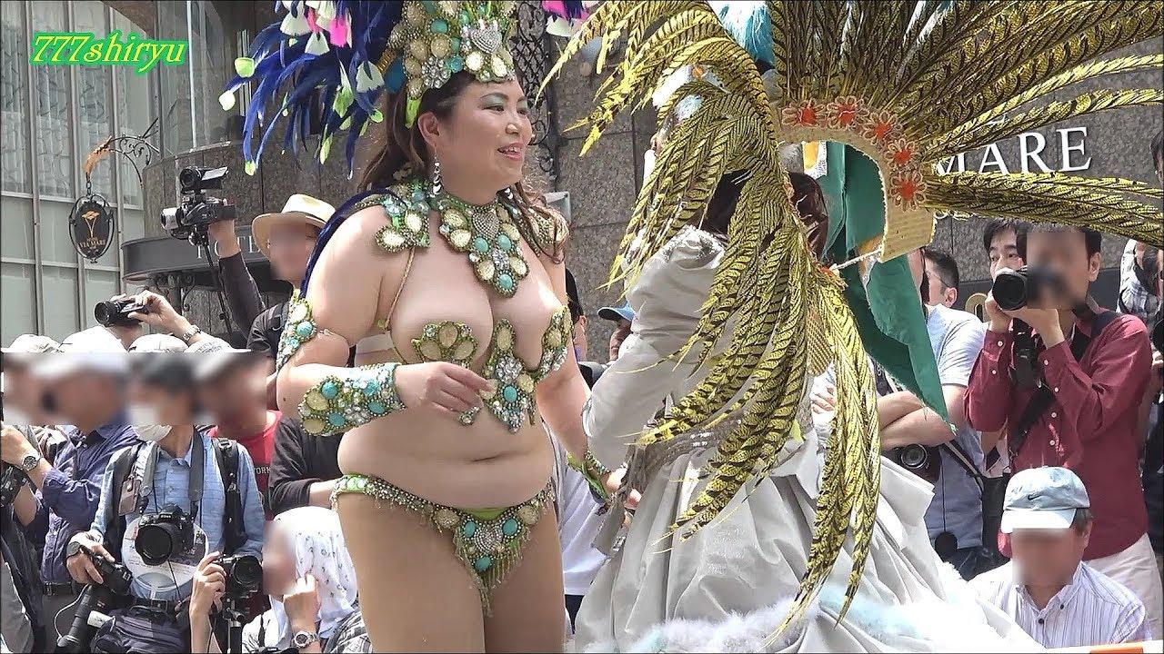 サンバ 神戸 【神戸まつり2017】サンバ高画質No.04日伯協会神戸ブラジル協会☆神戸港開港150周年記念Kobe Festival Samba dance  team