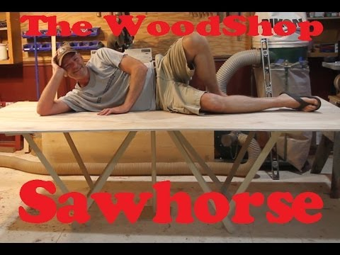 Collapsible Sawhorse