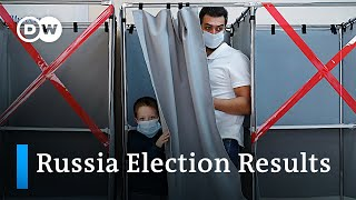 Russia regional elections: Putin's United Russia on course to victory | DW News