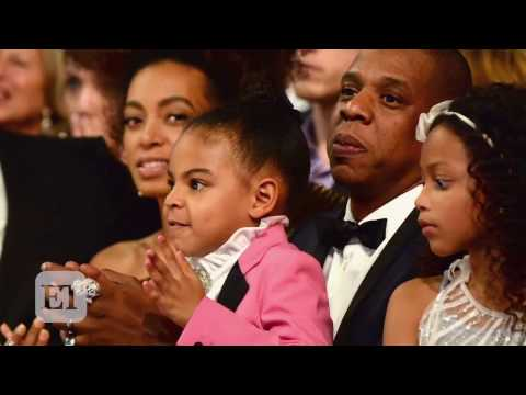 Download Youtube: Blue Ivy Steals the Show at GRAMMYs Pops Into Carpool Karaoke