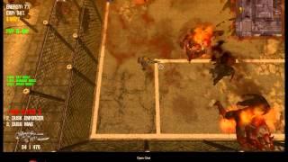 Dead Frontier.- Nine Cutter X vs. Flaming Titans.