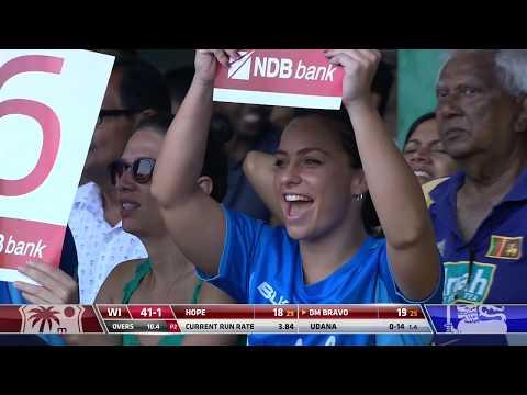 Sri Lanka Clinch Thriller | Sri Lanka Vs West Indies 1st ODI - Highlights