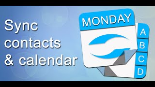 Contacts & Calendar iCloud Sync
