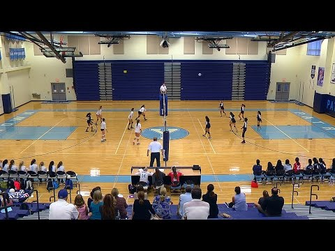 Freshman Volleyball: Thomas Jefferson at Yorktown 2016