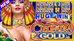 NEW CLEOPATRA GOLD!!! BONUS !!! 1c IGT Slot in San Manuel Casino