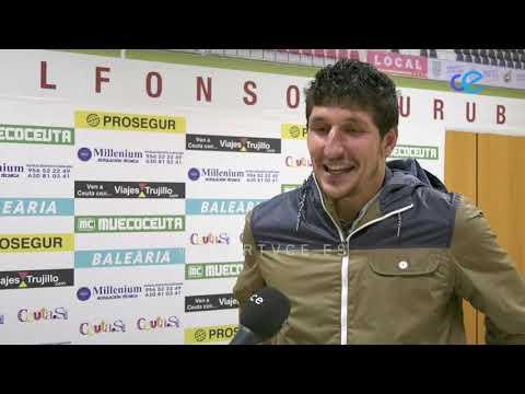 Jaime Morales es uno de los nuevos fichajes del Ceuta para la nueva temporada