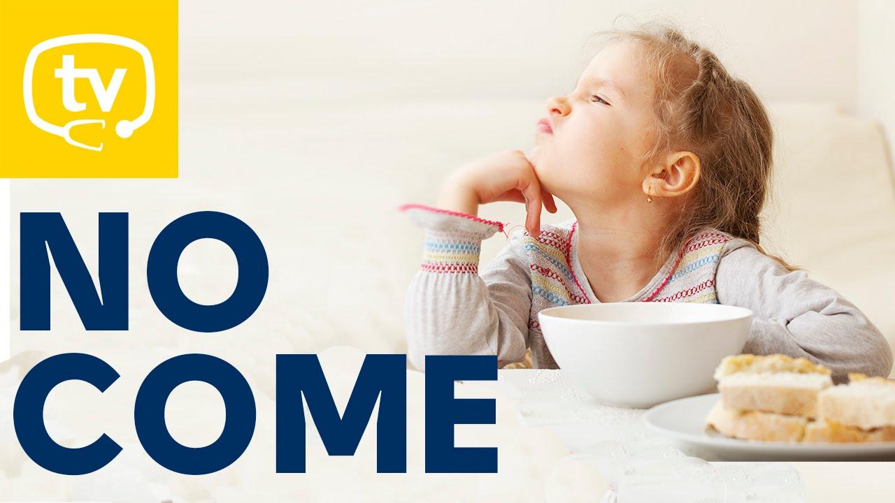 Que hago mi bebe no quiere comer nada