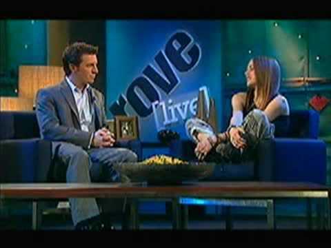 Avril Lavigne Rove Interview 2002