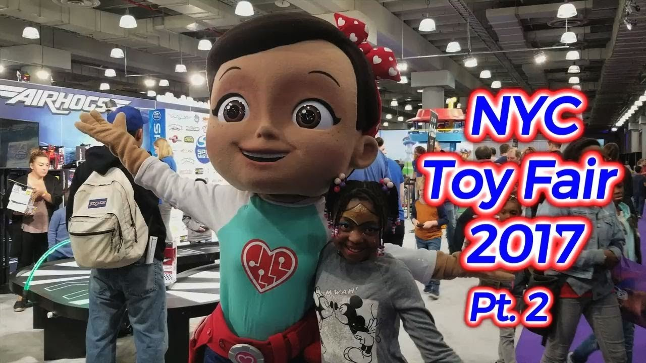 Huge Nyc Toy Fair 2017 Part Two Hottest Holiday Toys