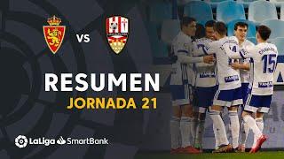 Resumen de Real Zaragoza vs UD Logroñés (2-0)