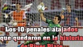 Top 10 de penales atajados que quedaron en la historia de River Plate 2015
