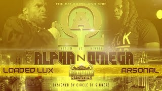 Loaded Lux vs Arsonal | UDubb's Alpha N Omega Rap Battle