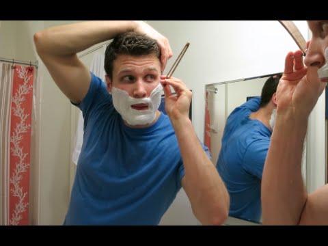 Dovo Straight Razor Shave Practice!