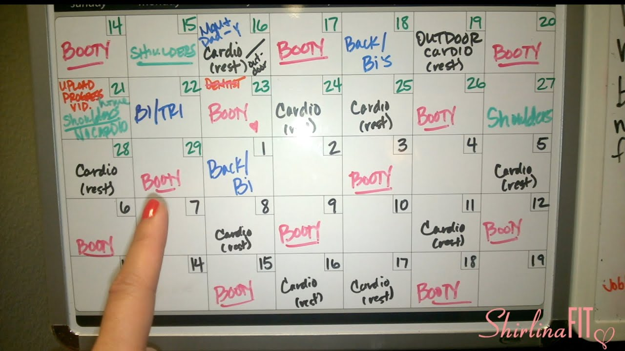 weight loss tool workout board tracker youtube