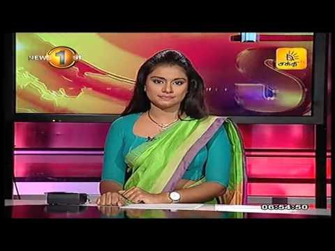 News1st Prime Time News Sunrise Shakthi Tv 20th September 2016