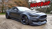 THE UKS MOST DEADLY FORD MUSTANG *1000BHP WIDE BODY ANIMAL*