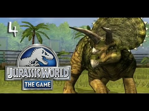 triceratops 2 0 jurassic world the game episode 4 youtube