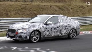 2015 BMW 1 - Series E87 testing on the Nürburgring Nordschleife