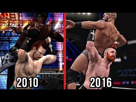 The Evolution Of Sheamus High Cross! ( Smackdown vs Raw 2011 To WWE 2K17 )