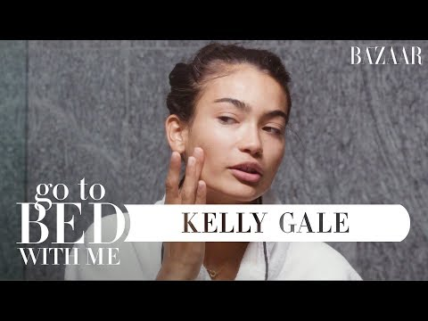 Victoria's Secret Model Kelly Gale's Nighttime Skincare Routine | Go To Bed With Me