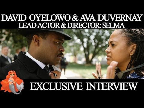 Selma Movie Interview: Ava DuVernay & David Oyelowo with Cinema Siren