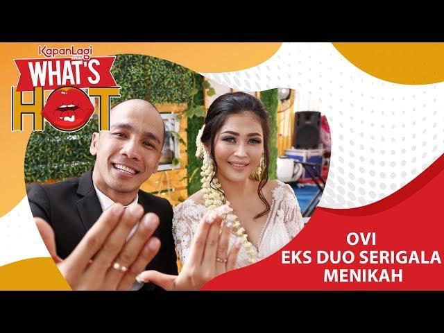 Ovi Eks Duo Serigala - Franky Ilham resmi Menikah