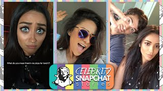 SHAY MITCHELL September 2015 Snapchat PART 1 | feat. Ian Harding, Ashley Benson, Troian Bellisario