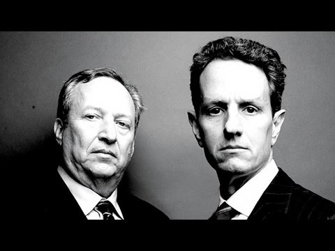 Secret Memos with Summers and Geithner to Deregulate the Market