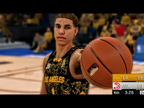 40bf28a397d Fans MOD NBA 2K19 From NBA 2K18 PART 3! LaMelo Ball Vs Trae Young!
