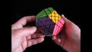 SunWinder's 6x6x6 Trajbers Octahedron 'Truncated' Puzzle