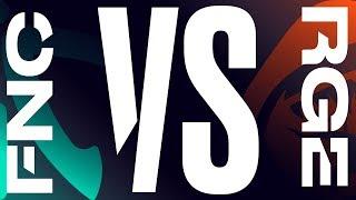 FNC vs. RGE - Week 9 Day 2 | LEC Summer Split 2019