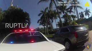 USA: Police tackle, arrest former Trump campaign manager Brad Parscale - body cam footage
