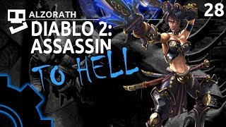 Diablo 2: To Hell! [28]: Radament Rumble [ Assassin | Gameplay | RPG ]