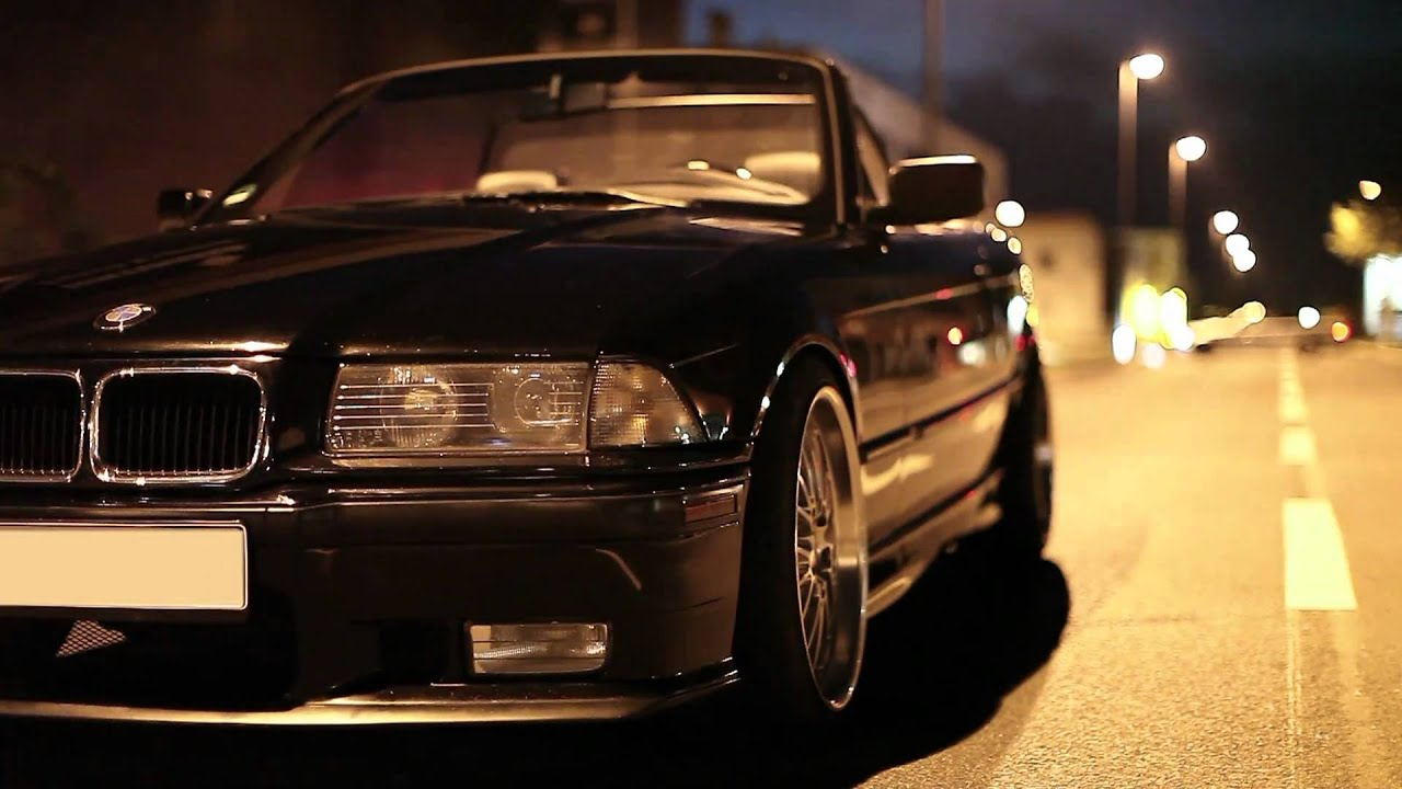 BMW e36 Cabrio filmed by PeterCordes - YouTube