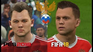 "PES 2018 vs FIFA 18 ""Rusia"" Comparación Mundial - FULL HD"