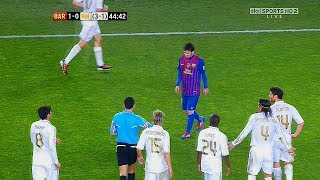 10 грязных поступков Реала против Лео Месси